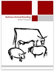 Archiv für Tierzucht = Archives Animal Breeding