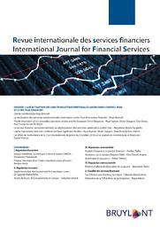 Revue internationale des services financiers = International review of financial services
