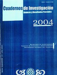 Cuadernos de Investigación. Serie Economía