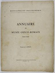 Annuaire du Musée gréco-romain