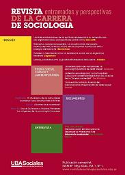 Revista de la carrera de sociología, entramados y perspectivas