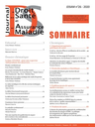 Journal du Droit de la Santé et de l'Assurance-Maladie