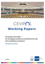 CEVIPOL Working Papers