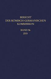 Bericht der Römisch-Germanischen Kommission