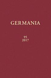 Germania : Anzeiger der Römisch-Germanischen Kommission des Deutschen archäologischen Instituts