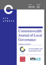 Commonwealth journal of local governance