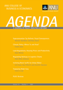 Agenda - A Journal of Policy Analysis and Reform