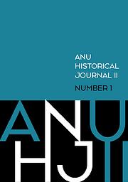 ANU Historical Journal II