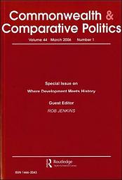 Commonwealth & comparative politics