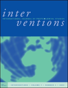 Interventions :  International journal of postcolonial studies