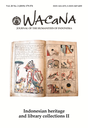 Wacana : Jurnal Ilmu Pengetahuan Budaya