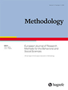 Methodology. European journal of research methods for the behavioral and social sciences