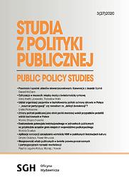 Studia z Polityki Publicznej - Public Policy Studies