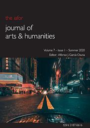 IAFOR Journal of Arts & Humanities