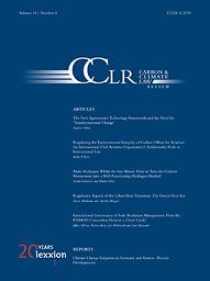 Carbon & climate law review