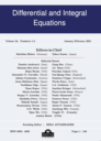 Differential and integral equations