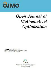 Open Journal of Mathematical Optimization