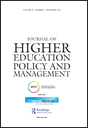 Journal of higher education policy and management