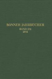 Bonner Jahrbücher des LVR-Landesmuseums Bonn und des LVR-Amtes für Bodendenkmalpflege im Rheinland sowie des Vereins von Altertumsfreunden im Rheinlande