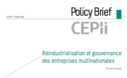 CEPII Policy Brief