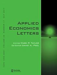 Applied economics letters