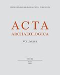 Acta archaeologica