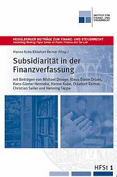 Heidelberger beiträge zum finanz- und steuerrecht