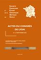 Actes des congrès de la Société française d'étude de la céramique antique en Gaule