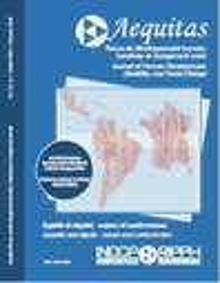 Aequitas : revue de développement humain, handicap et changement social