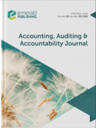 Accounting auditing & accountability journal