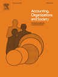 Accounting, organizations and society