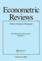 Econometric reviews