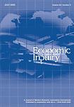 Economic inquiry