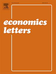Economics letters