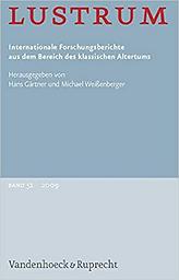 Lustrum = Internationale Forschungsberichte aus dem Bereich des klassischen Altertums