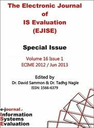 Electronic journal of information systems evaluation