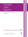 Environment and planning. D, Society & space