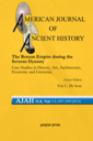 American journal of ancient history