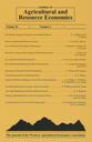 Journal of Agricultural and Resource Economics