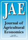 Journal of agricultural economics