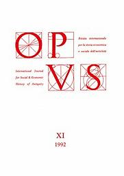 Opus ( rivista internazionale per la storia economica e sociale dell'antichità )