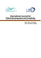 International journal for talent development and creativity