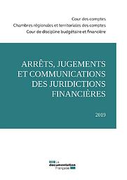 Arrêts, jugements et communications des juridictions financières ...