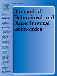 Journal of behavioral and experimental economics