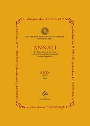 AION ( Annali del Dipartimento di studi letterari, linguistici e comparati. Sezione linguistica )