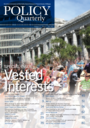 Policy quarterly (Victoria University of Wellington, Institute for Governance and Policy Studies)