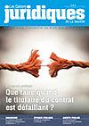 Cahiers juridiques de la Gazette