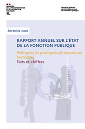 Rapport annuel sur l'état de la fonction publique