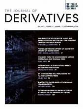 Journal of derivatives