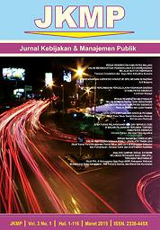 Jurnal Kebijakan & Manajemen Publik